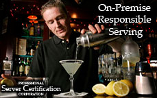 On-Premises Responsible Serving